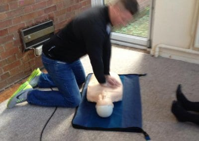 Emergency First Aid at Work Training Course passed by Initial Recruitement 05