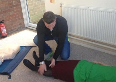 Emergency First Aid at Work Training Course passed by Initial Recruitement 06