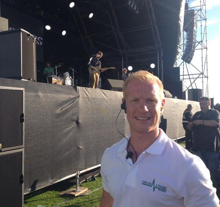 Event First Aid Cover at Sportbeat Festival