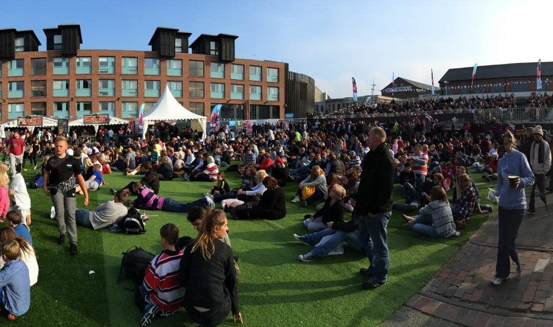 Rugby World Cup 2015 Fanzone Gloucester