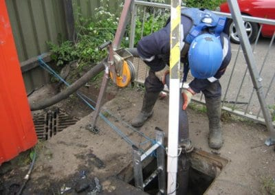Confined Space Cleaning and Surveying