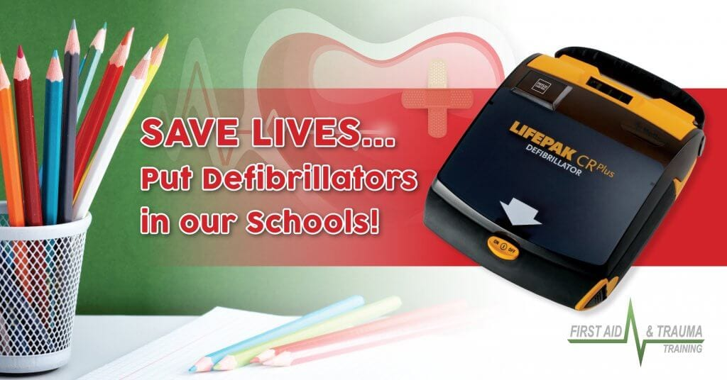 Defibrillators in Gloucestershire Schools