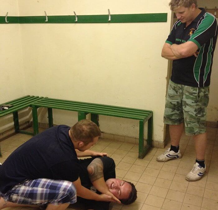 Drybrook Rubby Club get First Aid Trained!